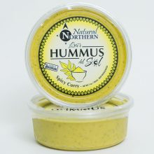 spiced curry hummus
