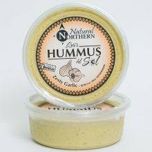 zesty garlic hummus